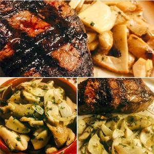 Steinpilze zum Steak